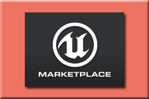 unreal 4 marketplace logo