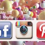 Find Me & My 3D on Social Media!