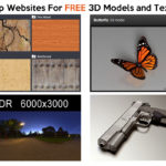 My top websites for FREE 3D models and textures
