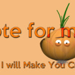 Vote for Mr. Onion print on Threadless