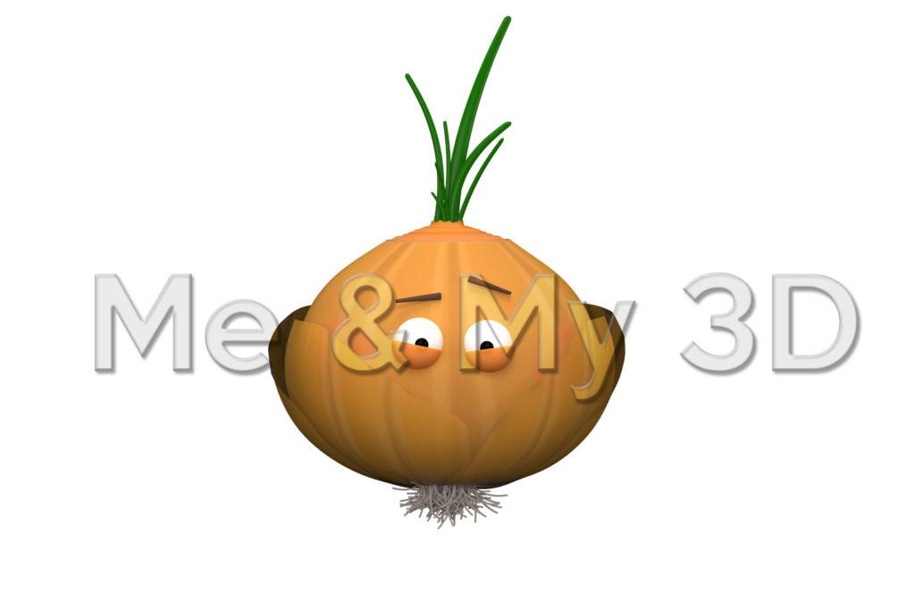 Mr. Onion Print
