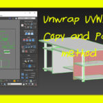 Unwrap UVW: How To Make It Easier |3dsMax tutorial